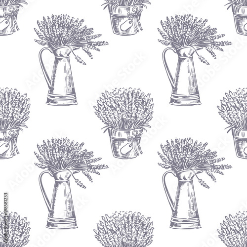 Vector Seamless pattern Canvas-taulu