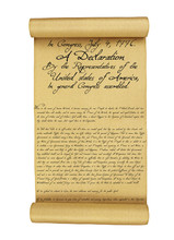 Declaration Of Independence Is...