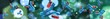 canvas print picture - antibodies, immunoglobulins, scientific background, 3D rendering