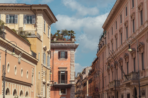 Foto op Canvas Artistiek mon. Italy Rome Buildings Architecture