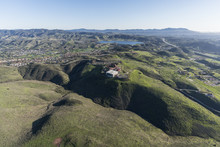 Aerial View Of Simi Valley Ran...