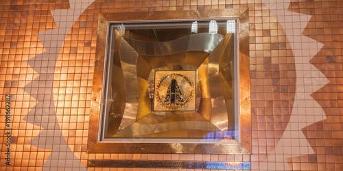 Fotografija  Original image of saint Sanctuary of Aparecida, largest Catholic church in Brazi