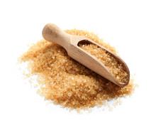 Wooden Scoop With Brown Sugar ...