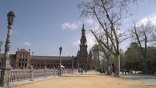 Plaza De Espana And The South ...