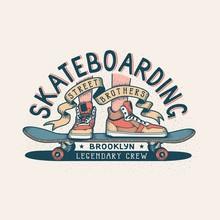 Authentic Skateboarding Vintag...