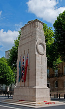 The National Cenotaph Memorial In London.