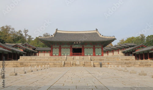 Deurstickers Seoel Gyeonghuigung palace Seoul South Korea