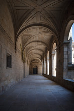 Medieval Monastery Corridor In...