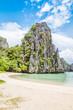 The Secret lagoon in El Nido Philippines