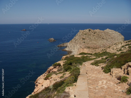 Fotografie, Obraz  Capo Sandalo, Isola San Pietro. Sardegna