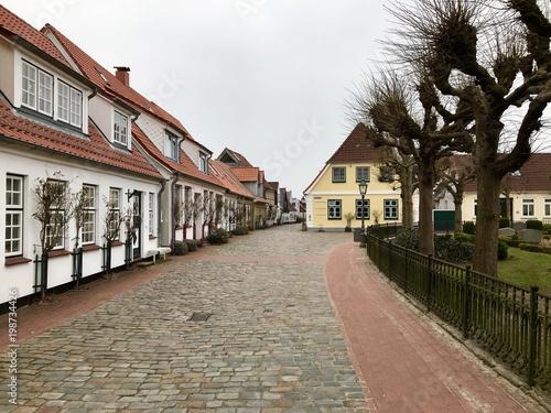 Fotografia, Obraz  Historische Fischersiedlung Holm in Schleswig (Schleswig-Holstein)