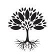 Ekologiczne drzewo ilustracja wektorowa