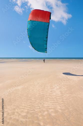 kisurf sur une plage de rêve