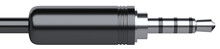 Black 3.5 Mm Audio Stereo Mini...