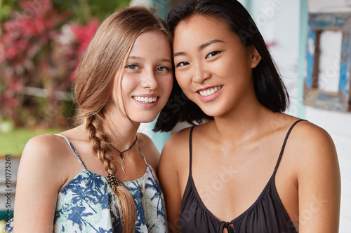 Asian women interracial