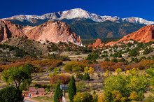 Garden Of The Gods In Autumn 2...