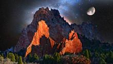 Garden Of The Gods At Colorado...