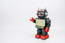 Vintage Robot Retro Classic Toy