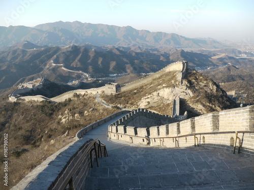 Foto op Plexiglas Chinese Muur 万里の長城 八達嶺 北京