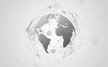 Global Network Connection Worl...