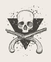 Jolly Roger Skull
