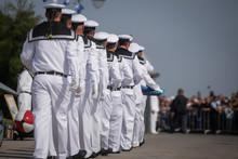Romanian Military Sailors Take...