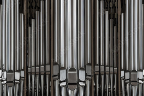 Detail of a church organ. Fototapeta