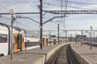 Exterior of train platforms