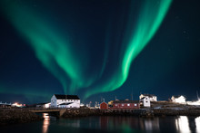 Northern Light Shining In The ...