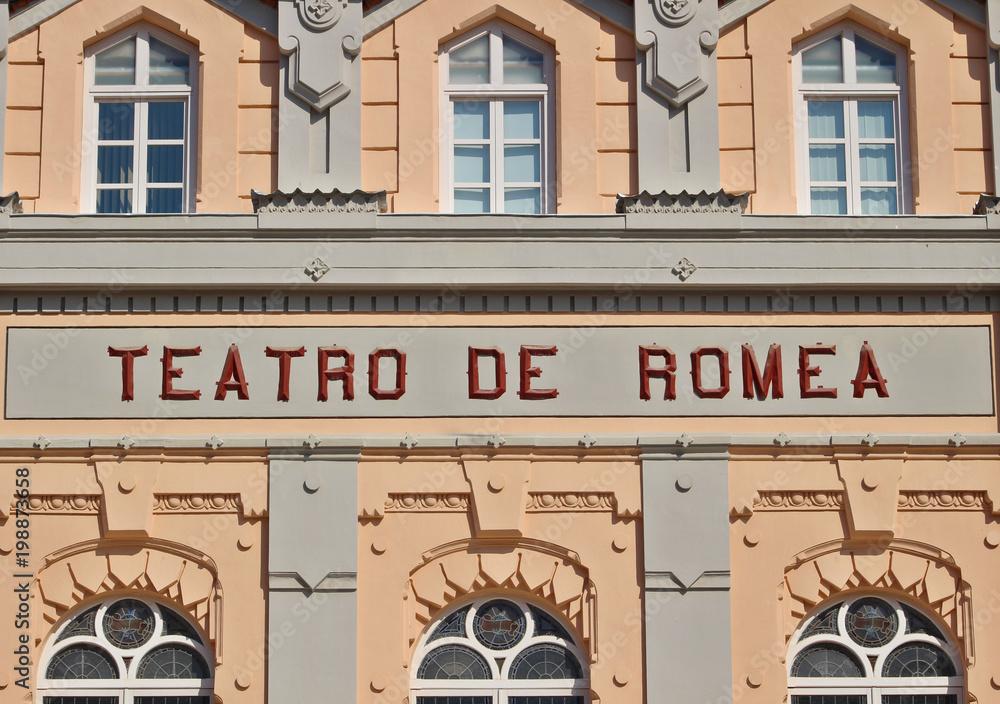 Fototapety, obrazy: Teatro Romea de Murcia, España