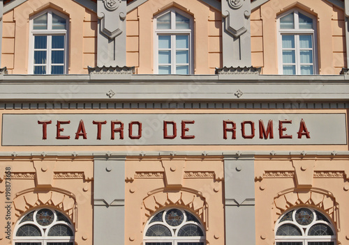 Teatro Romea de Murcia, España