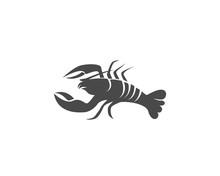 Icon Crayfish. Lobster