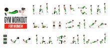 Set Of Sport Exercises. Exerci...