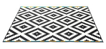 Carpet With Pattern On White B...