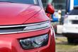 Modern Headlight - Red new Car -