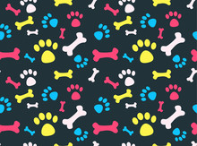Pet Footprints Pattern
