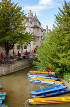 Punts In Oxford Oxfordshire So...