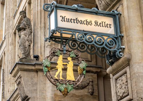 Papiers peints Commemoratif Auerbachs Keller in Leipzig