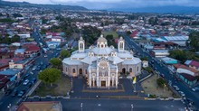 Aerial View Of The Basilica Of...