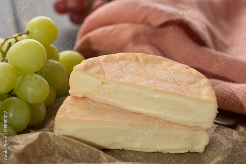 French soft strong smelling cheese Munster from Alsace