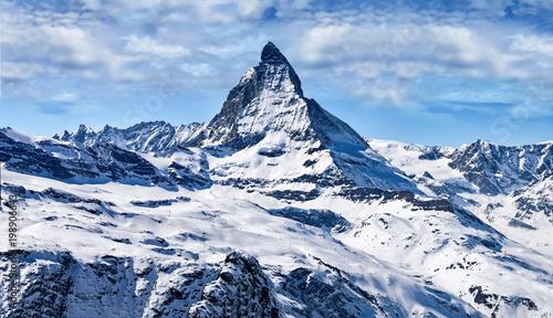 Matterhorn, Gornergrat, Zermatt, Schweiz Wallpaper Mural