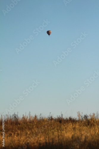 Safari by hot air balloon