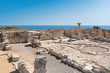 Ruins of ancient Kourion. Limassol District. Cyprus.