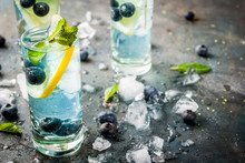 Summer Refreshment Drinks, Blu...
