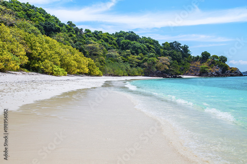 Foto op Canvas Tropical strand Tropical beach at andaman sea, Island in Myanmar.