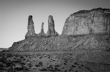 Three Sisters, Monument Valley, 2012