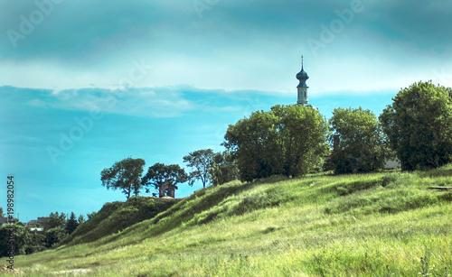 Foto op Canvas Turkoois landscape
