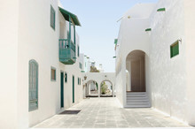 Typical Street Of Canary Islan...