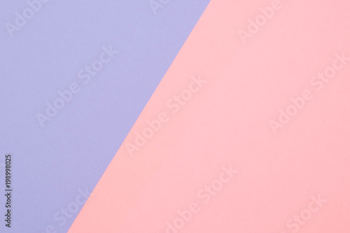 fashion flat lay, minimal style of paper in pastel tone as abstract background Wallpaper Mural