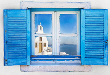 Beautiful Vintage Greek Window...